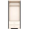 Шкаф для одежды 2-х дверный с ящиком Венеция 17