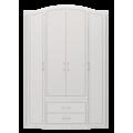 Шкаф для одежды 4-х дверный с ящиками Виктория 02