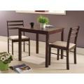 Комплект MK-5303-TB 1 стол + 2 стула с мягким сиденьем